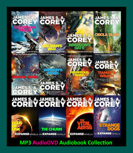 The EXPANSE Series By James SA Corey  (12 MP3 Audiobook Collection)