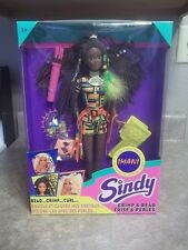ULTRA RARE  VINTAGE SINDY IMANI CRIMP AND BEAD AFRICAN AMERICAN DOLL HASBRO