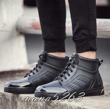 Regenstiefel Herren Schwarz Gummi Schuhe Stiefeletten Kurzer Stiefel Männer Mode