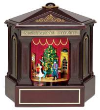 Mr. Christmas Heirloom Nutcracker Ballet Stage Show Action/Lites Music Box VIDEO
