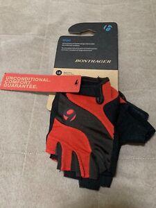 Bontrager Bike Cycling Sport Gloves WSD Model 9201 Red Black Size L/G