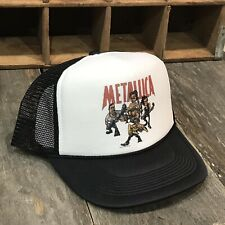 Metallica Rock Band Load Concert Tour Trucker Hat! Vintage 90's Mesh Snapback