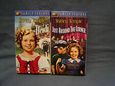 "2 SHIRLEY TEMPLE VIDEOS  ""HEIDI"" & ""JUST AROUND THE CORNER"" CHILDRENS  G, DWAN,"