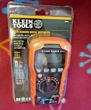 Klein Tools Mm400 600v 10a 40m Auto Ranging Digital Multimeter New