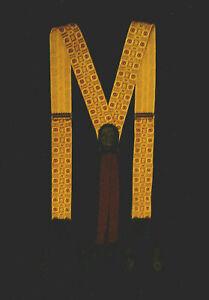 Rare vintage A0400 COLE HAAN Silk Suspenders-Caramel w Burgundy-Black Leather