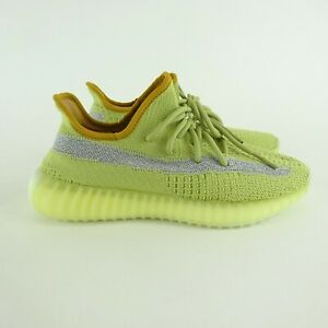 Adidas Yeezy Boost 350 V2 Green Yellow Sneakers Size Men's 6.5 FX9034