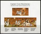 Australia 1970 Captain Cook Miniature Sheet Mint Unhinged