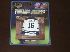 ELBY TIMELESS MAGNET MINI HOCKEY JERSEY DARCY TUCKER # 16 MAPLE LAEFS
