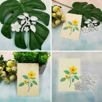 Flower Leaf Metal Cutting Dies Stencil Scrapbooking Album Paper DIY Card P8B0