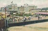 ATLANTIC CITY NJ – Boardwalk Rotograph Postcard - 1908