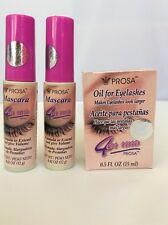 2 PROSA 4EN1 MASCARA FORMULA ALARGADORA   1 Aceite Para PESTANAS-oil For Eyelash