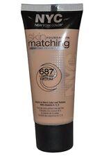 NYC Skin Foundation Matching Adapting Technology 687 Light to Medium 30ml New