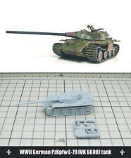 1/144 RESIN KITS  WWII German PzKpfw E-79 (VK 6600) tank