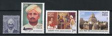 India 2017 MNH Temples Famous People Kavi Muddana Adikavi Nannaya 4v Set Stamps