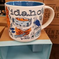 Starbucks IDAHO You Are Here 2018 Ltd BEEN THERE Ceramic Coffee Cup 14 oz Mug
