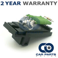 FOR FORD TRANSIT CONNECT 1.8 PETROL (2002-2006) HEATER BLOWER MOTOR FAN RESISTOR