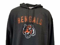 Cincinnati Bengals NFL Majestic Fleece Lined Hoodie, Big & Tall 5XL 6XL, nwt