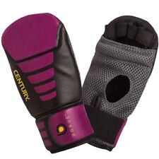 Century Women's Brave Lightweight Slip-On Boxing Bag Gloves - Black/Pink