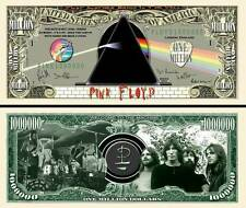 PINK FLOYD - BILLET 1 MILLION DOLLAR US ! Collection David Gilmour Roger Waters