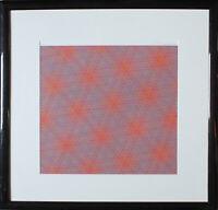 JOSEF LEVI - Abstrakte Komposition. Handsignierter + nummerierter Farbsiebdruck.