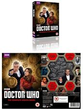 DR WHO 2014 Series 8 Doctor 12 Peter CAPALDI+Clara Oswald Season R2/4 DVD not US