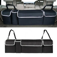 1x Great Oxford Car Seat Back Organizers Top Multi-use For Interior Accessories