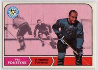 1968-69 Topps #109 Val Fonteyne EX-NM - SET BREAK (112219-21)