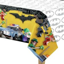 "54"" x 96"" Lego Batman Movie Superhero Birthday Party Plastic Table Cover"