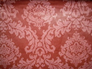 VARIOUS SIZES / COLORS -DAMASK-VINYL / FLANNEL BACKED-TABLECLOTHS-BY ELRENE