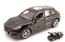 Burago - PORSCHE MACAN (Black) - Model Scale 1:24