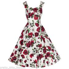 Cotton Sleeveless Dresses for Women's 1950s