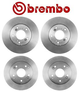 For Acura Integra Engine B18C5 1.8L Front and Rear Brake Disc Rotors Kit Brembo