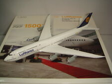"Herpa Wings 500 Lufthansa LH B747-8 ""1990s color - Nordrhein-Westfalen"" 1:500 NG"
