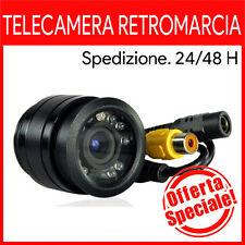 TELECAMERA RETROMARCIA AD INCASSO 9 LED AUTO CAMPER SUV RETROCAMERA CAMION