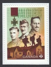 New! New! VALOUR ROAD = VICTORIA CROSS = stamp fr Booklet of 10 MNH Canada 2021