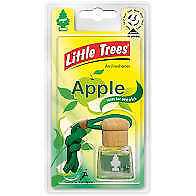 little trees 3d Bottle Air freshner Apple