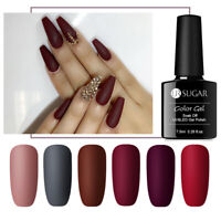 UR SUGAR 7.5ml Nagel Gellack Matt Top Coat Soak Off Matte Nail UV Gel Polish