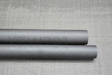 25mm 3K Carbon Fiber Tube 25x23 x500mm with 100% Japan improve material Matte US
