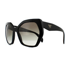 4e412db6823 Original PRADA PR 16rs 1ab-0a7 Black Frame Grey Shaded Lens Sunglasses 56