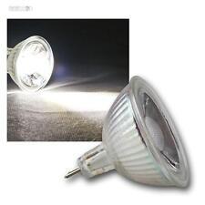 10 x Mr16 Lámpara LED, 3w COB BLANCO LUZ FRÍA 250lm focos, bombillas Spot 12v
