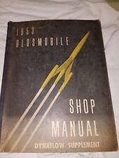 1953 Oldsmobile  Shop  Manual  dynaflow  transmission  supplement
