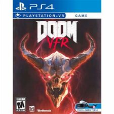 PS4 Doom VFR Virtual Reality VR NEW Sealed REGION FREE USA Game plays on all!!