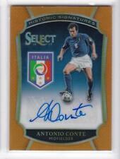 2016-17 Antonio Conte #/75 Auto Panini Select Italy Historic Signatures