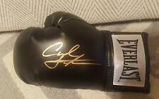 Everlast Glove Signed By Carl Frampton