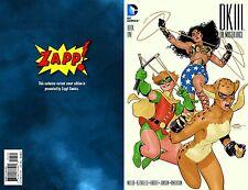 DARK KNIGHT BATMAN III THE MASTER RACE #1 ZAPP! COLOR + B&W VARIANT SET IN STOCK