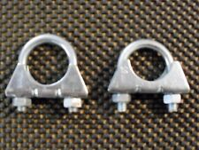 "2 x Exhaust Clamp U Bolt 32mm 1 1/4"" inch Universal Type"