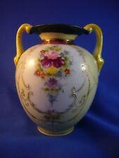 Antique Small Nippon vase, Porcelain. H>AA&S 10cm. high.