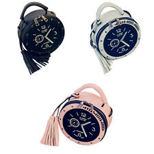 Mujer Bolsa de Diseño Reloj Borla Moda Lindo Bolsas de Mensa de Alta Calidad PU