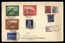 DR WHO 1948 GERMANY OTTOBRUNN REGISTERED TO PRIMISWEILER OVPT  g42730