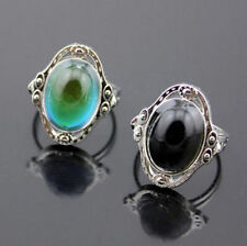 1pcs Women Changing Color Temperature Control Adjustable Chic Jewelry Mood Ring
